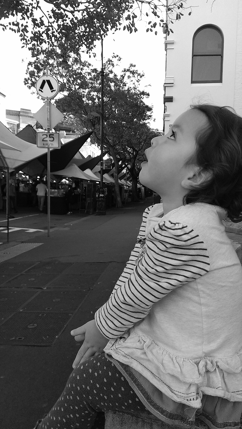 Emma at Sydney Markets